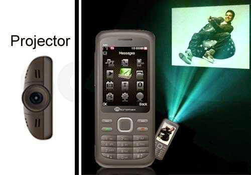 Micromax X40 Mobile Projector
