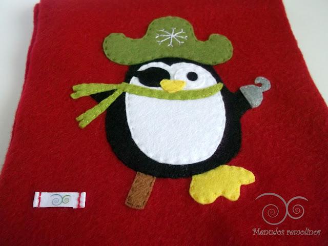 Bufanda Pingüino Paulino Pirata2