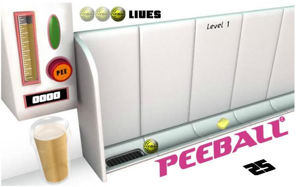 Ball Game : Pee Ball