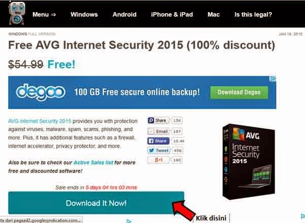 AVG Internet Security 2015 Gratis