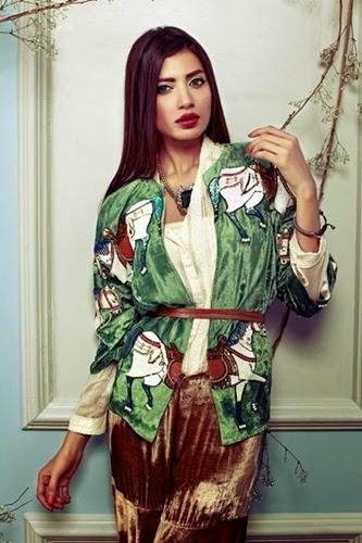 Sana Salman Luxury Pret Collection 2014-15