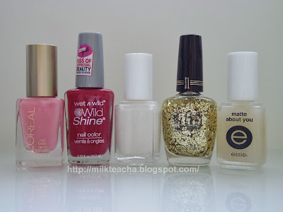 Polishes used in the Japanese style rabbits