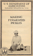 Making Fermented Pickles (1924)