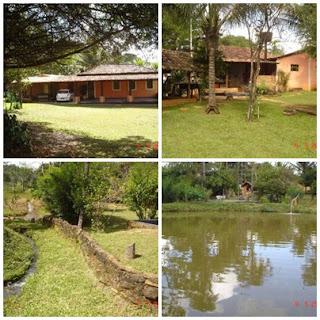 Linda Chácara de 3 Alqueires Rica em água a 60 Km de Goiânia - em Bela vista de Goiás