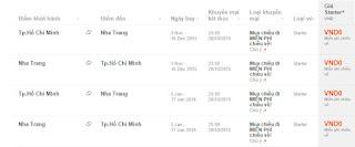 Đặt vé máy bay đi Nha Trang - Miễn phí chiều về của Jetstar