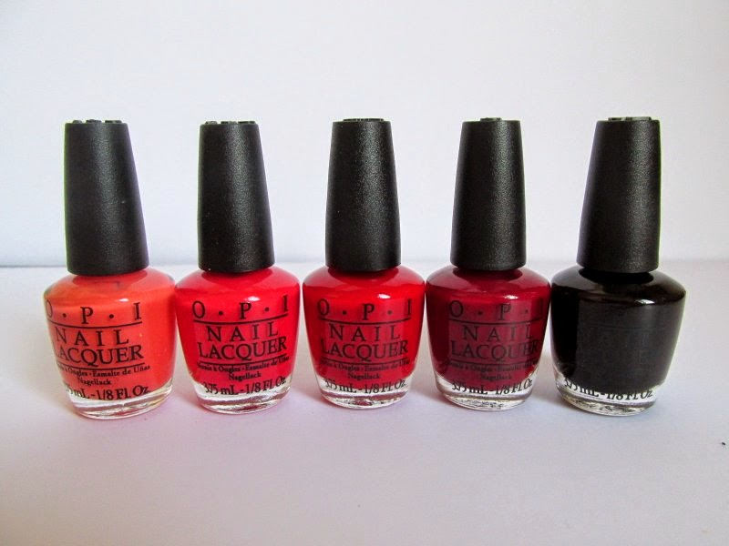 opi trend on ten classic red