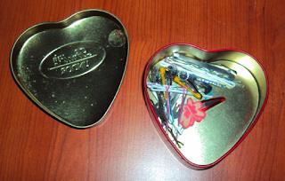 scatolina latta lindt cuore san valentino