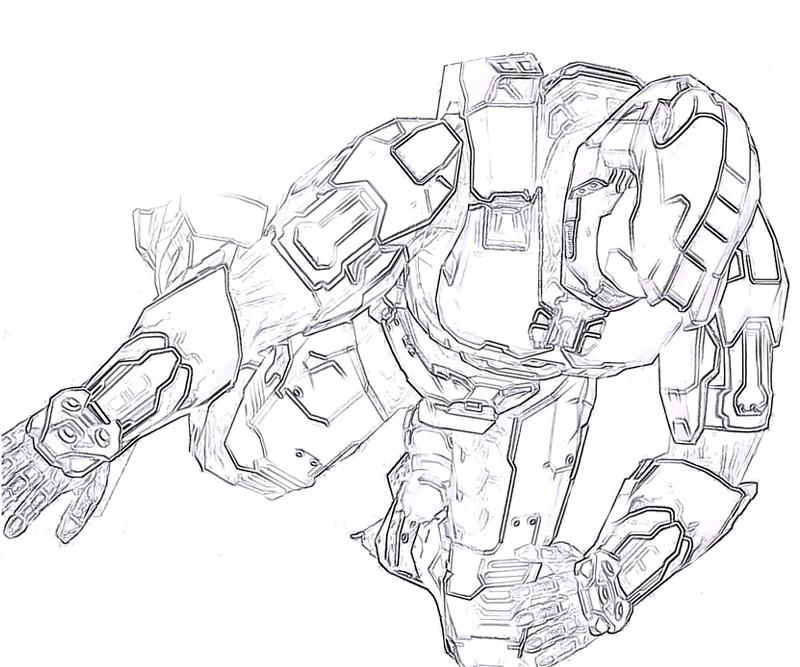 halo-4-master-chief-action-coloring-pages