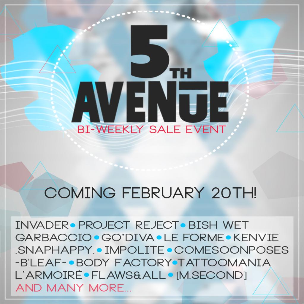 ll 5th AVENUE ll