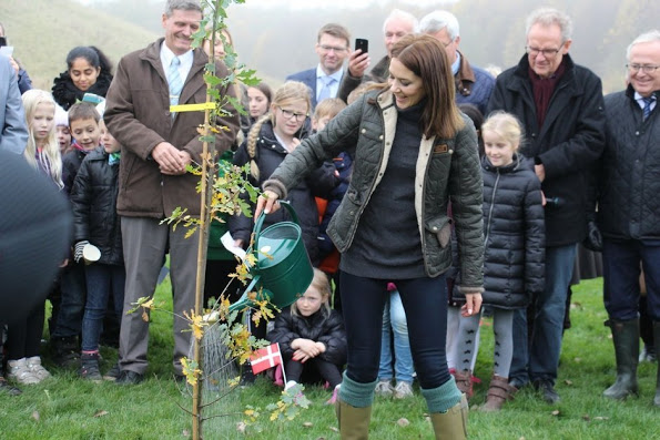 Crown Princess Mary Launched A Tree-Planting Campaign