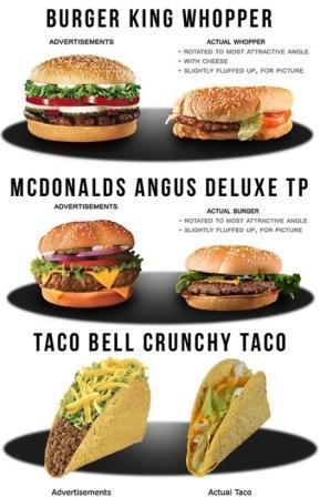 Contoh iklan makanan (food) dalam Bahasa Inggris.