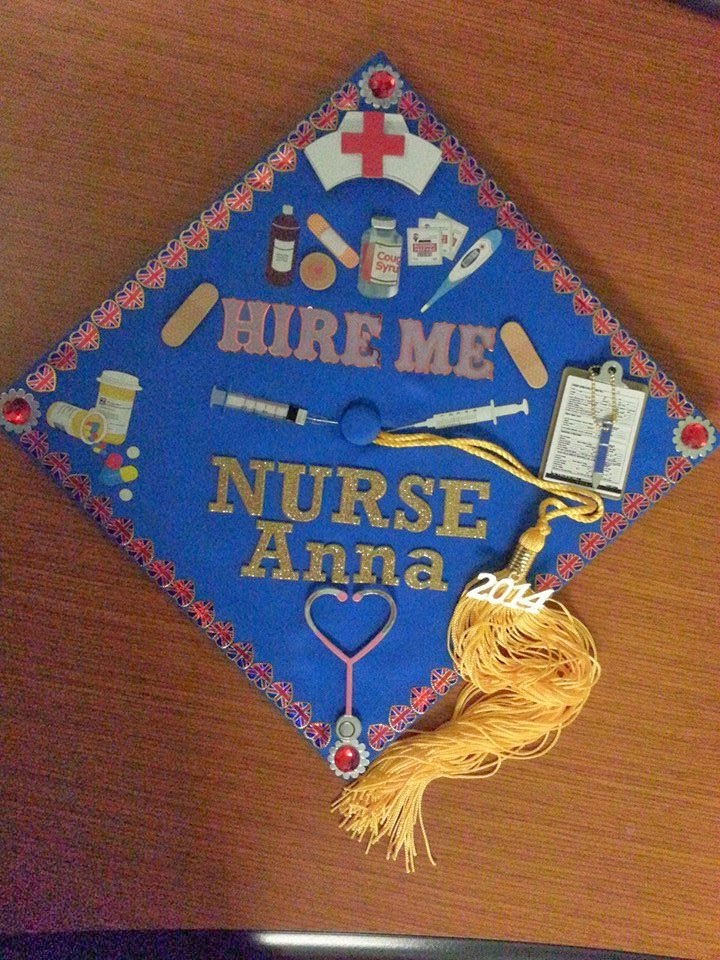Life with Lilith and the cats: nursing graduation cap ...