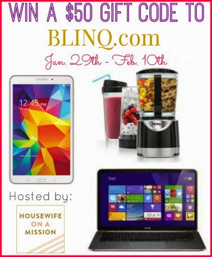 Enter the Blinq.com Valentines Day Giveaway. ends 2/10