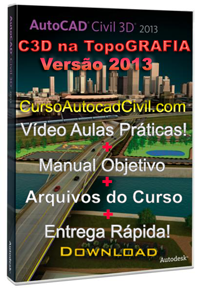 Curso de Topografia no AutoCAD Civil 2013 _ Aulas Práricas!