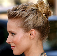 Style Athletics Cute Functional Hair Styles For the Gym Kristen Kirsten Bell