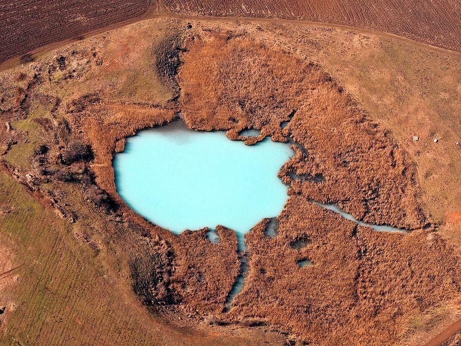 18. Frozen lake by Rafael George