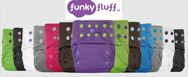 Win Funky Fluff Cloth Diapers Giveaway
