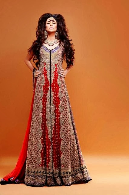 Dresses Women Collection 2013-2014 | Erum Khan Dresses Women Collection 2013-2014 By Fashion She9