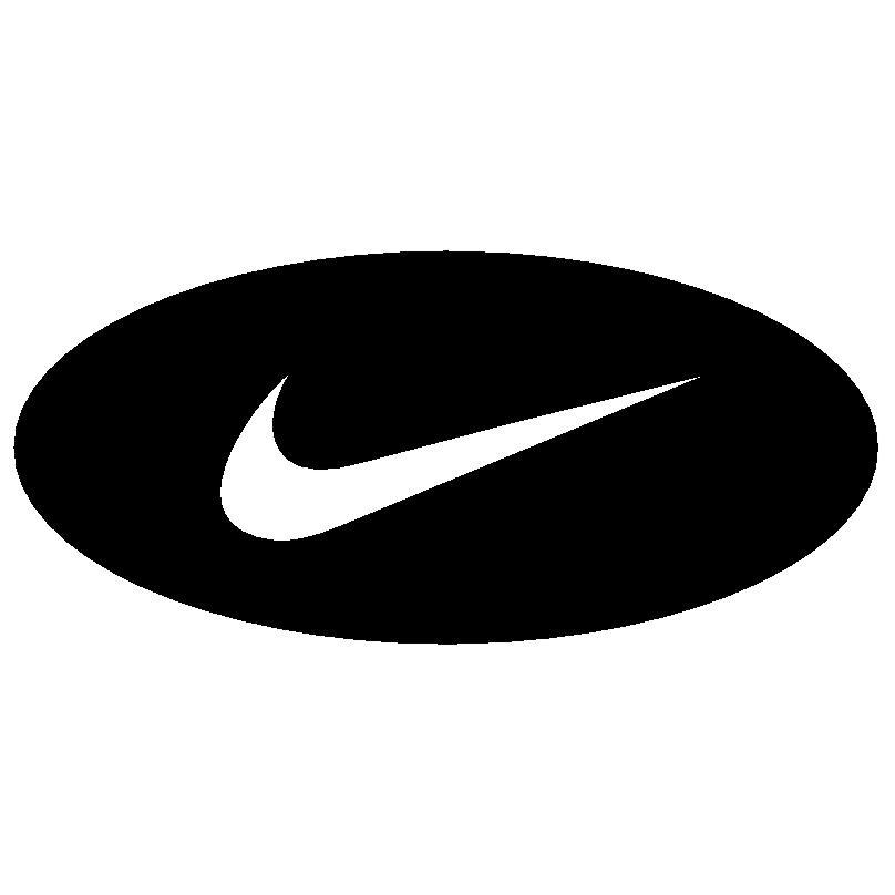 nike logo Vector Swirl Black Vector Swoosh Graphic
