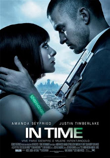 Cartel de la película In Time, del director Andrew Niccol
