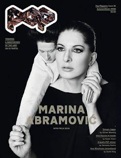 Marina Abramović na naslovnoj strani Pop Magazina
