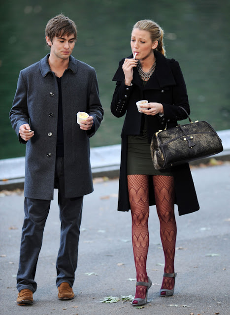 Blake Lively amp Chace Crawford Back to The Gossip Girl