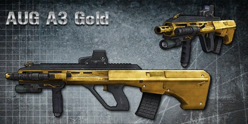 AUG A3 Gold Ext.