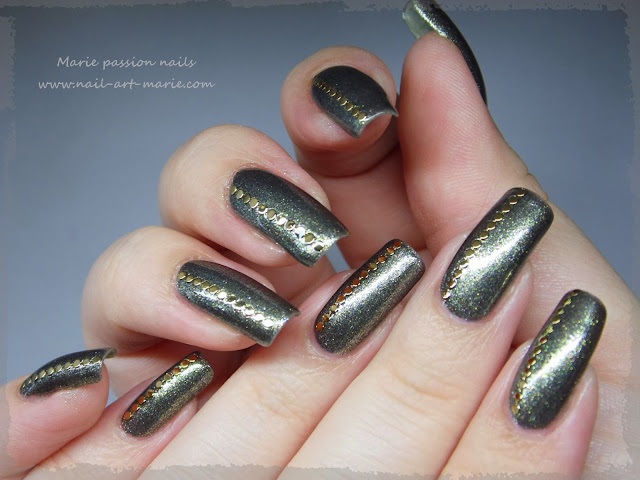 Nail art chic et discret1