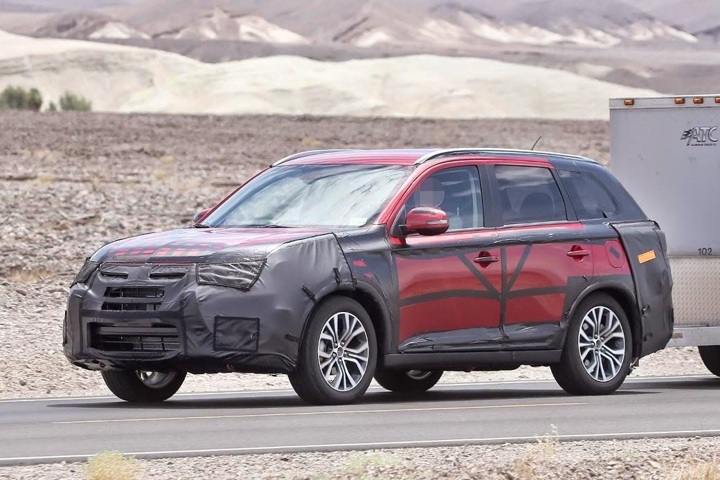 New gen Mitsubishi ASX/Outlander facelift 2015 2016