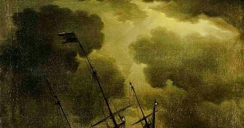 Loss of HMS Victory By Peter Monamy