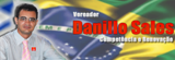 Site do vereador Danilo Sales
