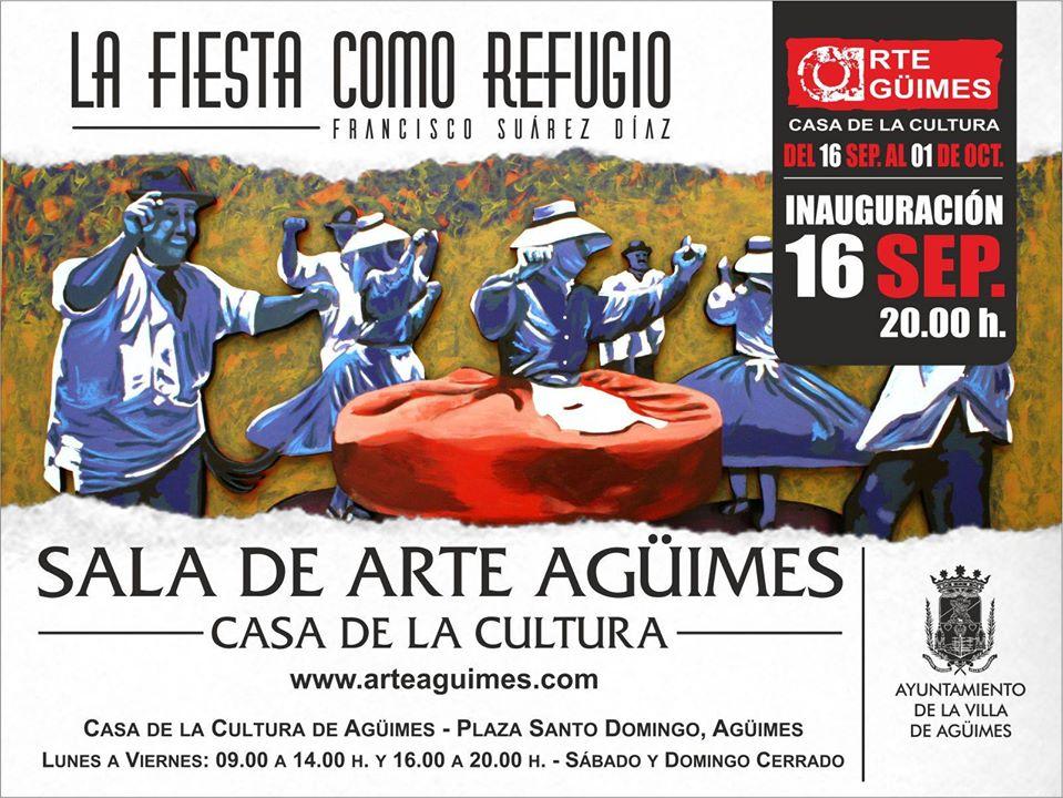 """""""La fiesta como refugio"""" en la Sala de Arte Agüimes"""
