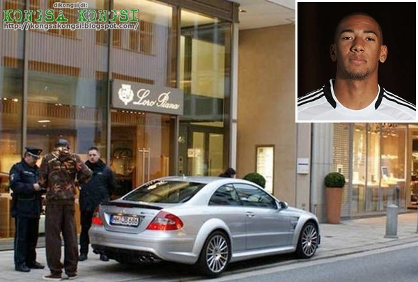 photo of Jérôme Boateng Mercedes-Benz CLK - car