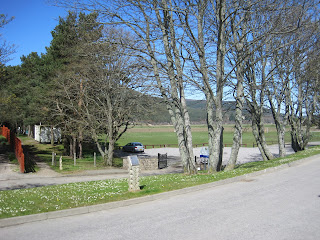 Ballater village green, Deeside