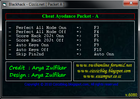 Audition Ayodance Hacks PF ON OFF , Hack Score ON OFF , Auto Key