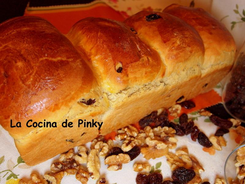 PAN BRIOCHE DE PASAS Y NUECES  Pan+brioche+de+pasas+y+nueces+1