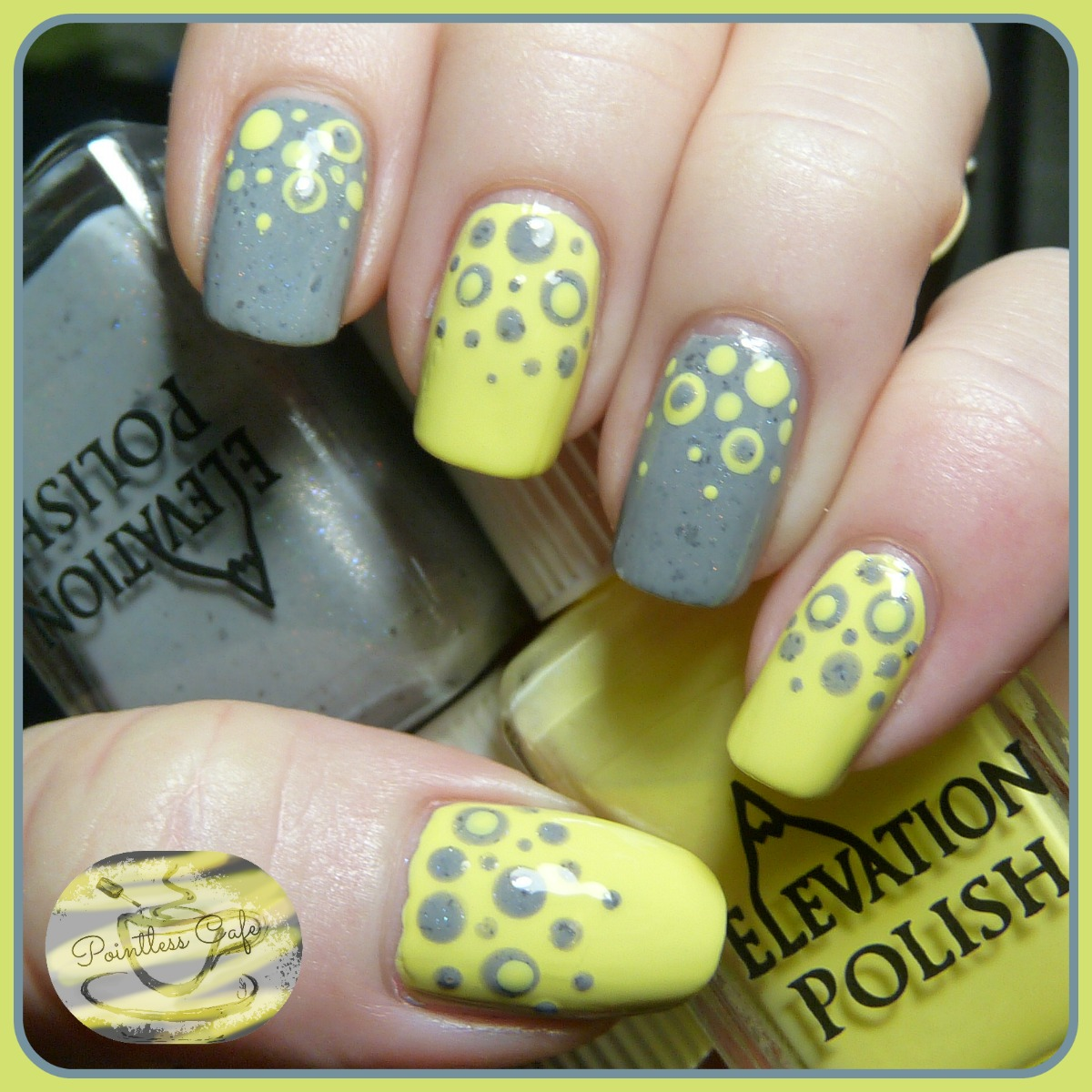 Grey and yellow nail art gallery nail art and nail design ideas yellow and grey nail designs image collections nail art and nail grey and yellow nail art prinsesfo Gallery