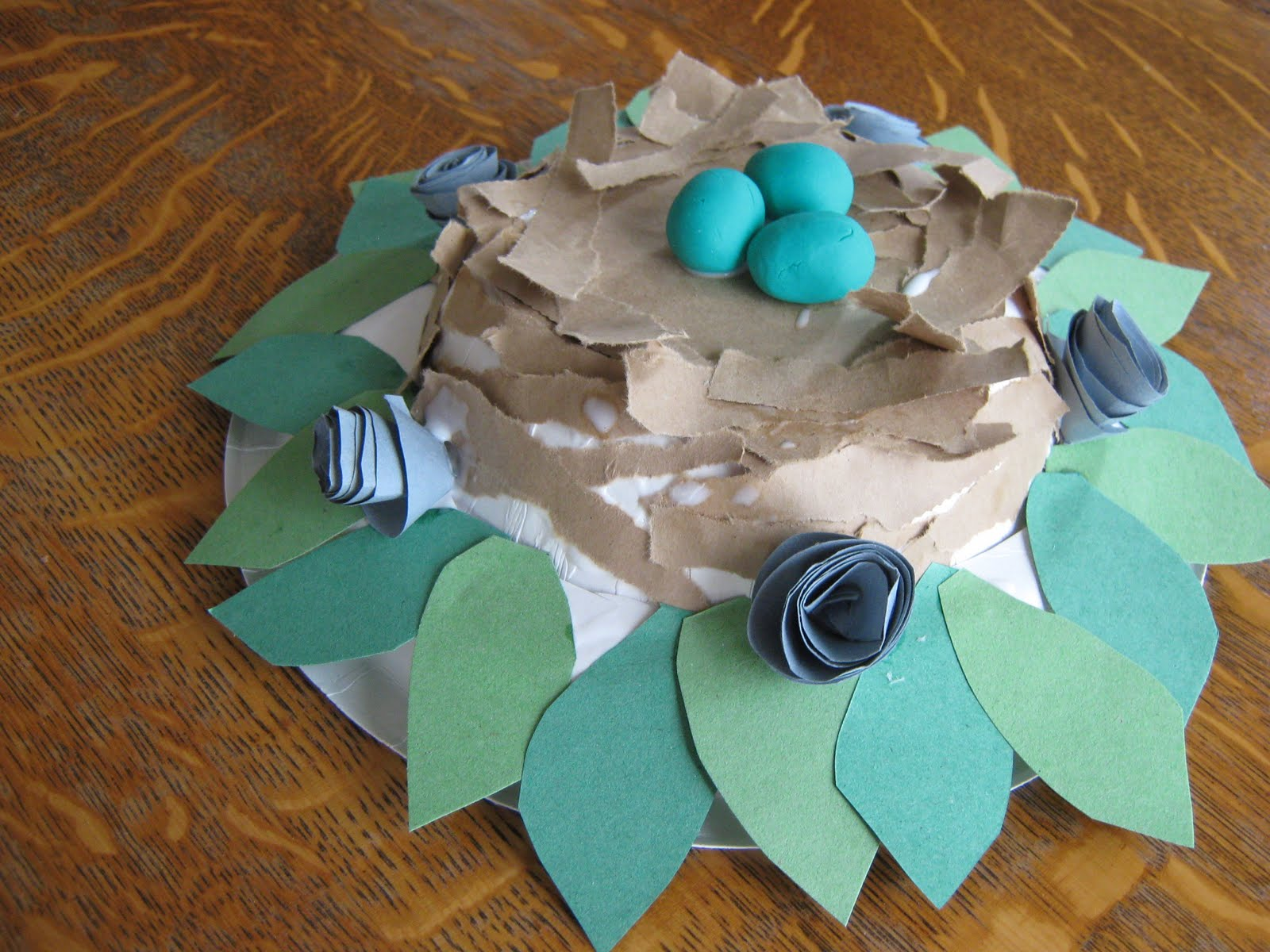 Almost Unschoolers & Almost Unschoolers: Paper Plate Millinery - Easter Bonnets for Children