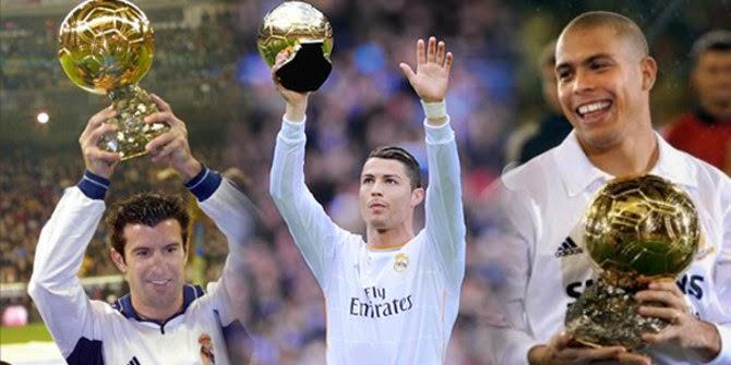 Peraih Ballon d'Or Paling Banyak