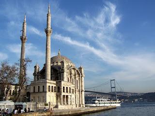 istanbul ortaköy beşiktaş cami