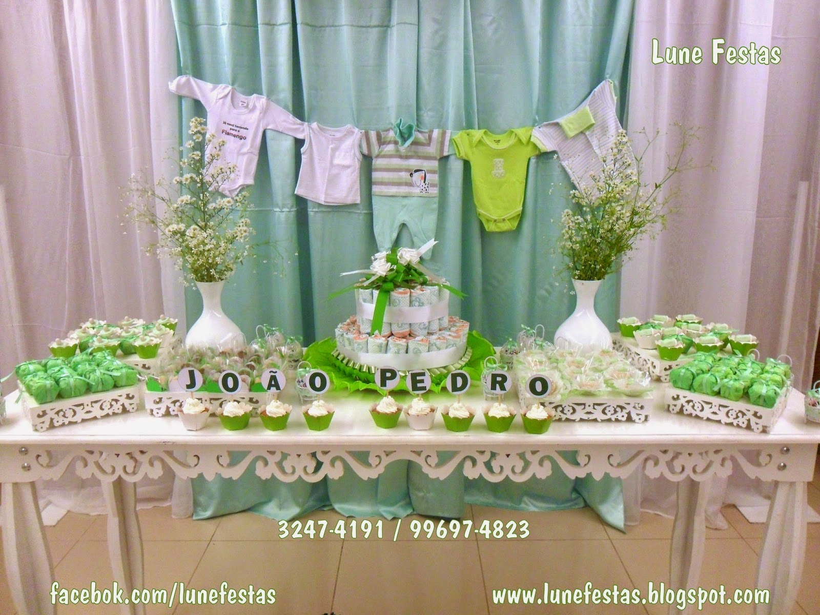Lune Festas São Gonçalo RJ: Chá de Fralda ou Chá de Bebê  #446F30 1600x1200