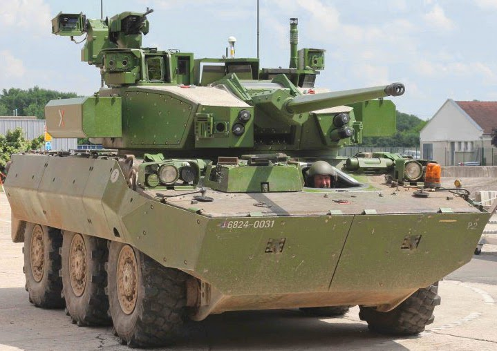 Nexter T40 Turret on AMX10RC Chassis