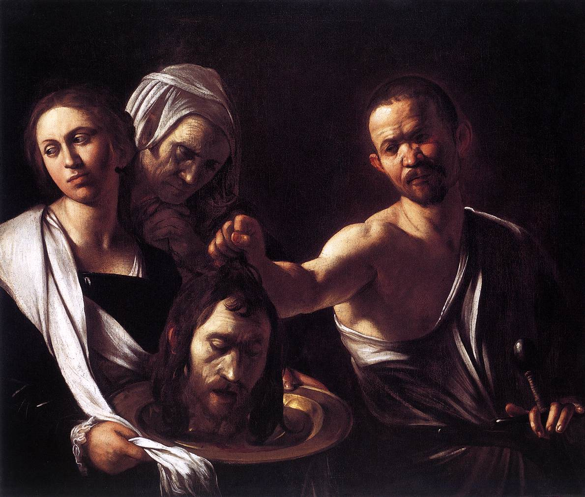 caravage salome painting