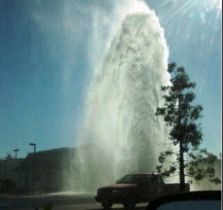 The great San Diego Geyser