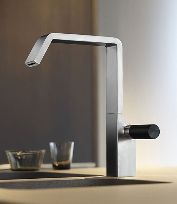 designer kitchen taps - kitchen tap photos @ the kitchen design