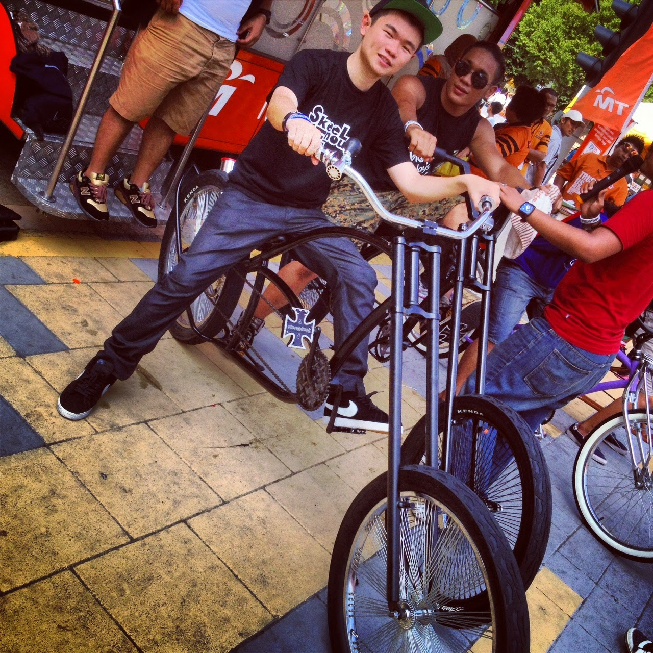 HANGING OUT WITH BIKE QUEST CHOPPER BICYCLE PUTRAJAYA FESTIVAL BELIA