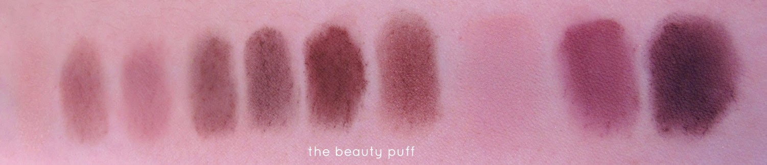 l'oreal la palette nude 2 swatch - the beauty puff