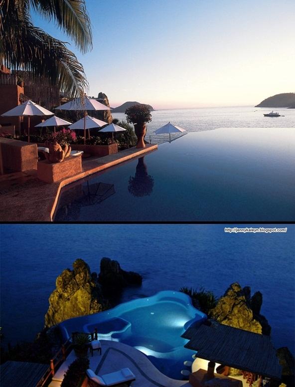 Top 7 kolam renang paling cantik di dunia (14 gambar)