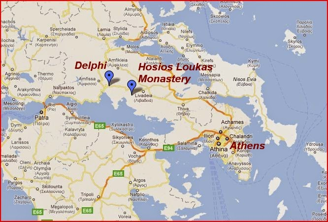 Murder Is Everywhere Greece Has A History Of Prophecy - Where is greece located