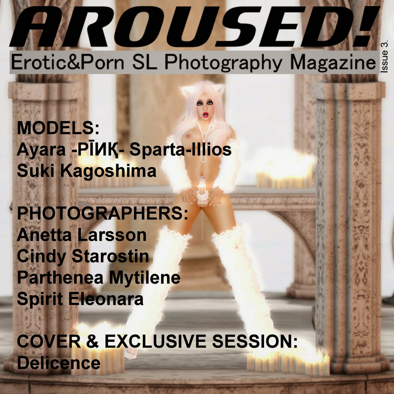 Aroused! Issue 3 Cover